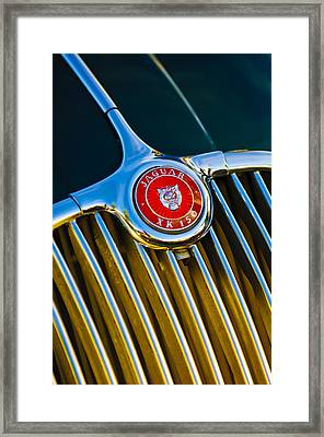 1960 Jaguar Xk150 Roadster 3 Framed Print by Jill Reger