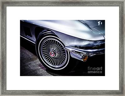 1960's Chevrolet Corvette Photo Framed Print