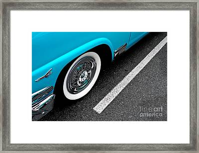 Framed Print featuring the photograph 1958 Ford Crown Victoria by M G Whittingham