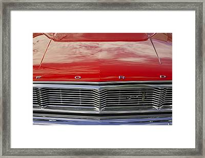1960s Ford Galaxie Framed Print