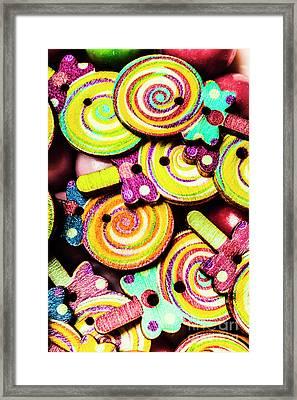1960s Hypnotic Sweetness Framed Print by Jorgo Photography - Wall Art Gallery