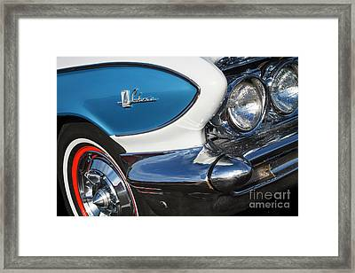 Framed Print featuring the photograph 1961 Buick Le Sabre by Dennis Hedberg