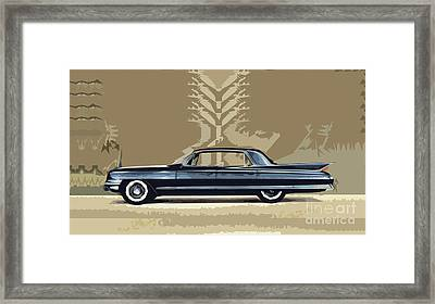 1961 Cadillac Fleetwood Sixty-special Framed Print