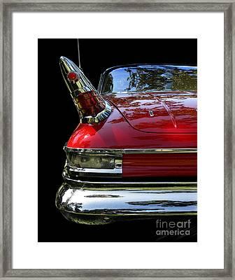 1961 Desoto Framed Print by Peter Piatt