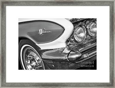 Framed Print featuring the photograph 1961 Le Sabre Monotone by Dennis Hedberg