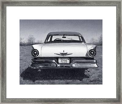 1961 Framed Print