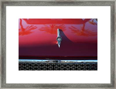1961 Rambler Hood Ornament 2 Framed Print
