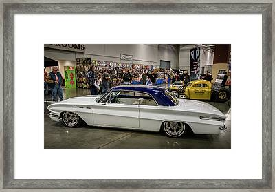 Framed Print featuring the photograph 1962 Buick Skylark by Randy Scherkenbach