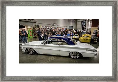 1962 Buick Skylark Framed Print by Randy Scherkenbach