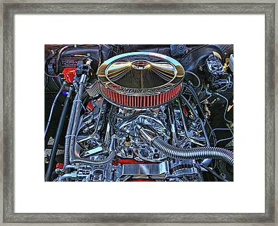 1962 Super Charged Chevy Nova Framed Print