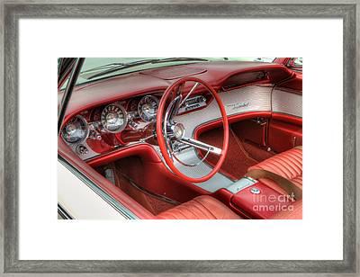 1962 Thunderbird Dash Framed Print