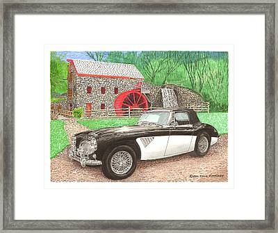 1963 Austin And Sudbury Mill Framed Print