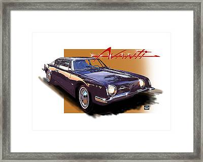1963 Avanti Framed Print