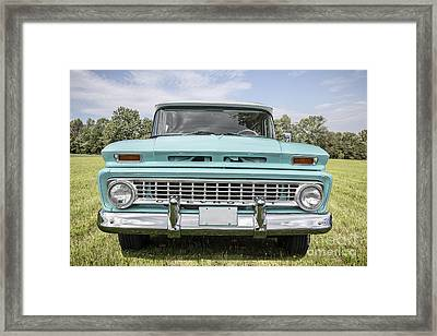 1963 Chevrolet Suburban Framed Print by Edward Fielding