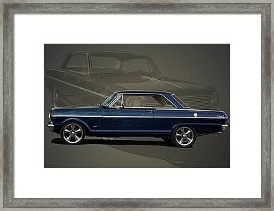 1963 Chevy II Nova Framed Print