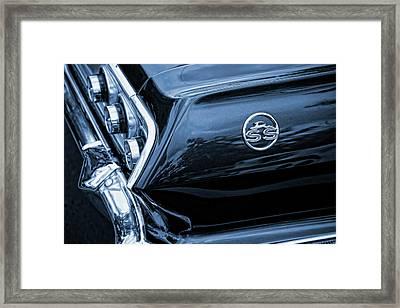 1963 Chevy Impala Blue Framed Print by Gordon Dean II