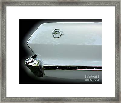 1963 Chevy Impala Framed Print
