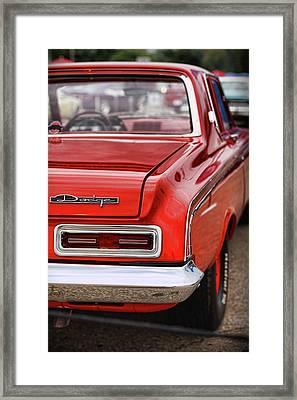 1963 Dodge 426 Ramcharger Max Wedge Framed Print by Gordon Dean II