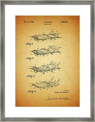1963 Flying Car Patent Framed Print