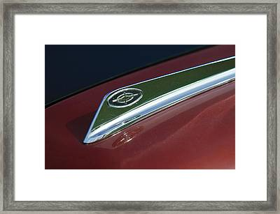 1963 Ford Galaxie Hood Ornament Framed Print by Jill Reger