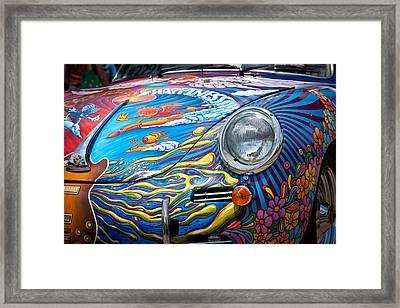1963 Porsche Framed Print