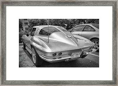 1963 Split Rear Window Coupe Framed Print