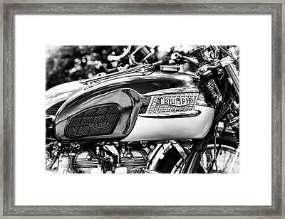 1963 Triumph Bonneville Tt Special Framed Print