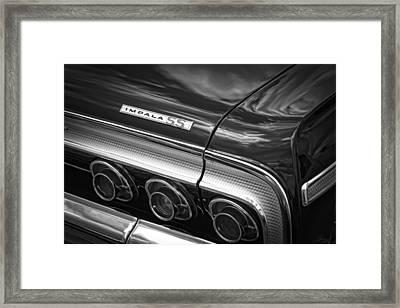 1964 Chevrolet Impala Ss Framed Print by Gordon Dean II