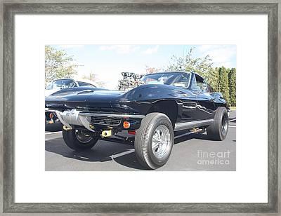1964 Chevy Corvette Muscle Car Framed Print by John Telfer