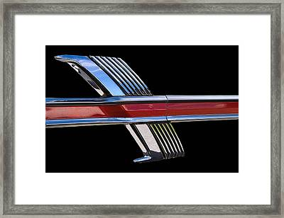 1964 Ford Fairlane Emblem Framed Print by Nick Gray
