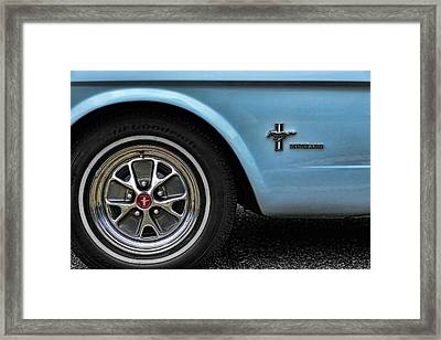1964 Ford Mustang Framed Print by Gordon Dean II