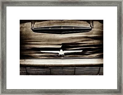 1964 Ford Thunderbird Emblem -0525s Framed Print