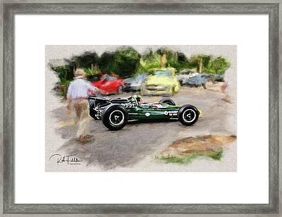 1964 Lotus Type 34 Indy Car Framed Print by Rich Fiddelke