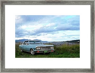 1964 Chevelle Malibu Ss 1000 Hp  Kindig-it Design Framed Print