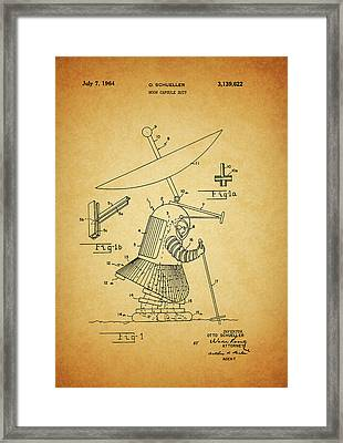 1964 Moon Spacesuit Patent Framed Print