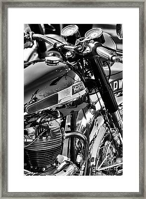 Framed Print featuring the photograph 1964 Norton Atlas by Tim Gainey