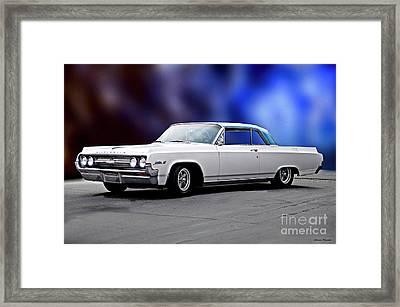 1964 Oldsmobile Jetstar 88 II Framed Print by Dave Koontz