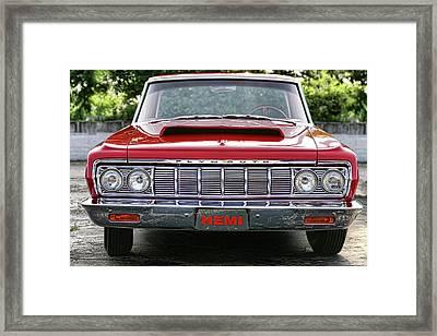1964 Plymouth Savoy Hemi  Framed Print by Gordon Dean II