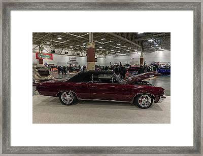 1964 Pontiac Gto Framed Print by Randy Scherkenbach