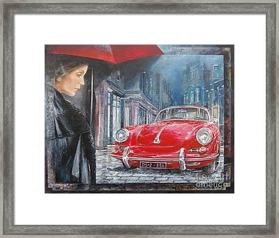 1964 Porsche 356 Coupe Framed Print