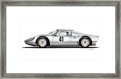 1964 Porsche 904 Carrera Gts Framed Print by Alain Jamar