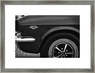 1964.5 Ford Mustang - 289 High Performance Framed Print by Gordon Dean II