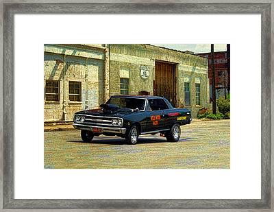 1965 Chevelle Gasser Framed Print