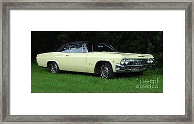 1965 Chevrolet Impala Ss Framed Print by Bob Christopher