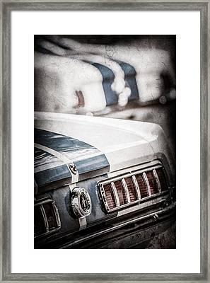 1965 Ford Shelby Mustang Gt 350 Tail Light -1037ac Framed Print by Jill Reger