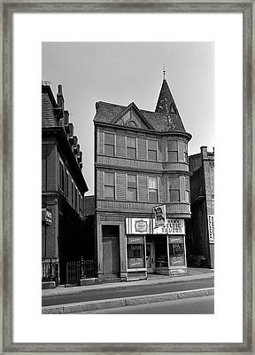 Framed Print featuring the photograph 1965 Jack's Celtic Tavern Boston by Historic Image