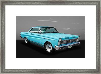 1965 Mercury Comet Framed Print by Frank J Benz