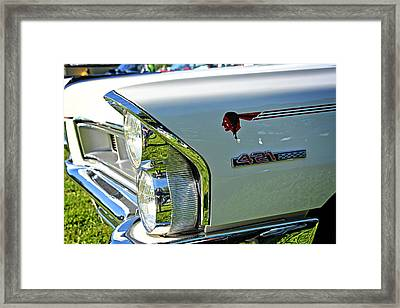 1965 Pontiac Grand Prix Front End Framed Print by Mike Martin