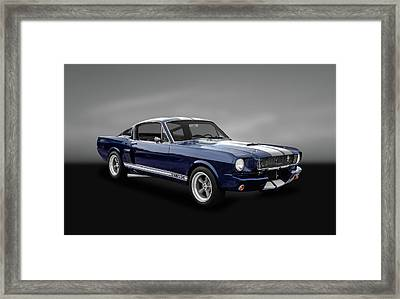 1965 Shelby Ford Mustang Gt 350 Fastback - 65fdmusgt973 Framed Print