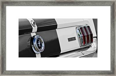 1965 Shelby Gt350 Taillights Framed Print